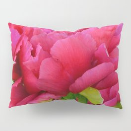 Dark Pink Tree Peony by Teresa Thompson Pillow Sham