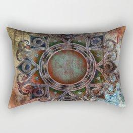 Mandala - Zombie Rectangular Pillow