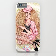 Lady and Her Pup iPhone 6s Slim Case