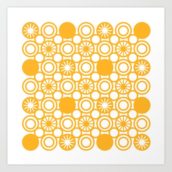 Circle A Art Print
