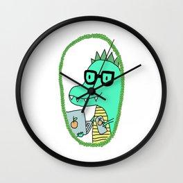 Flynn the Dinosaur || aka. the better geek Wall Clock