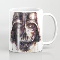 darth Mugs featuring Darth Vader by beart24