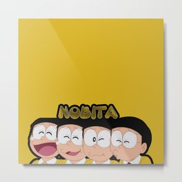 Nobita Moods2 Metal Print
