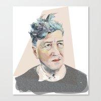 lynch Canvas Prints featuring Lynch by Jennild