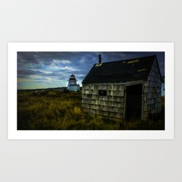 Neil's Harbour Lighthouse Art Print