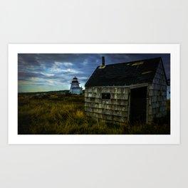 Neil's Harbour Lighthouse Art Print