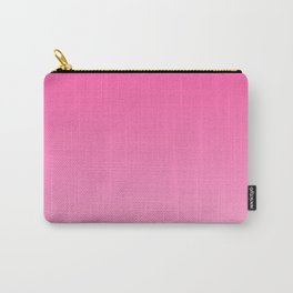 Bright pink neon gradient, Ombre. Carry-All Pouch