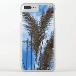 Tall Grasses Clear iPhone Case