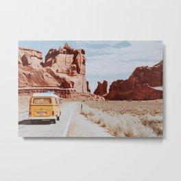 Desert Road Trip XVII Metal Print