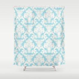 snow de nil Shower Curtain