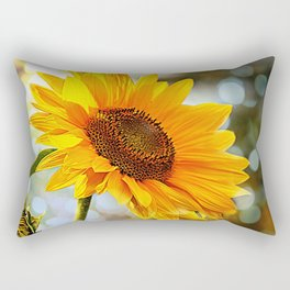 Radiant Sunflower Rectangular Pillow