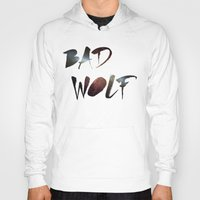 "dr who Hoodies featuring Dr. Who - ""Bad Wolf"" by Wolfei"