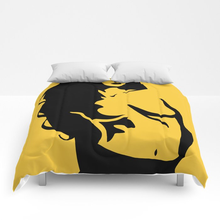 Woman #4 Comforters