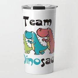 Team Dinosaur (3) Travel Mug