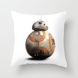 BB-8 by dana alfonso Throw Pillow