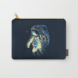 Space Ethereum - Navy Version Carry-All Pouch