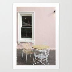 Pink Sunday Brunch Art Print