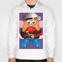 popeye Hoodies featuring Popeye Potato Head by tgronberg