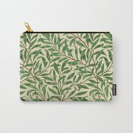 William Morris. Willow Bough Vintage Remix Illustration. Carry-All Pouch