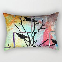 The Crows Rectangular Pillow