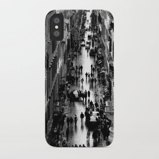 Rome, view from Spanish steps iPhone Case