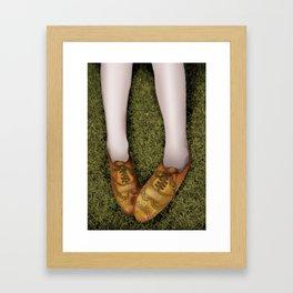 shoegaze... Framed Art Print