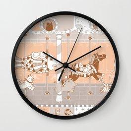 The Unpluged Amusement Park Wall Clock