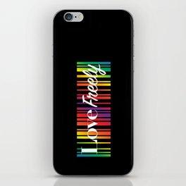 Love Freely iPhone Skin