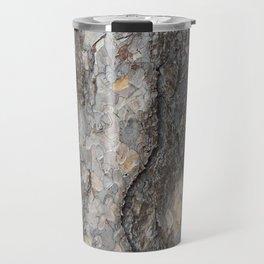 pine tree bark - scale pattern Travel Mug