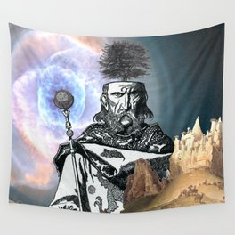 Uther is a little upset. Wall Tapestry