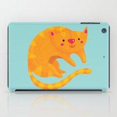 Orange cat iPad Case
