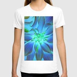 504 -Blue Dahlia T-shirt