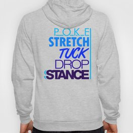 POKE STRETCH TUCK DROP STANCE v3 HQvector Hoody