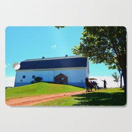 Carriage Ride Through Time Cutting Board