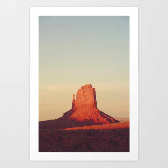 Monument Valley, P.M. Art Print