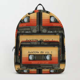 awesome transparent mix cassette tape vol 1 Backpack