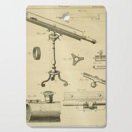 Jérôme Lalande's Astronomie (1771) - Telescope Apparatus 3 Cutting Board
