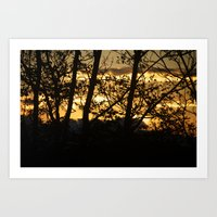 maryland Art Prints featuring Maryland by Patricia McNickle