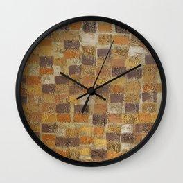 Brick Road Wall Clock