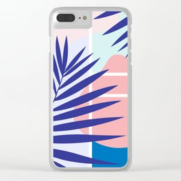 Memphis Mood Clear iPhone Case