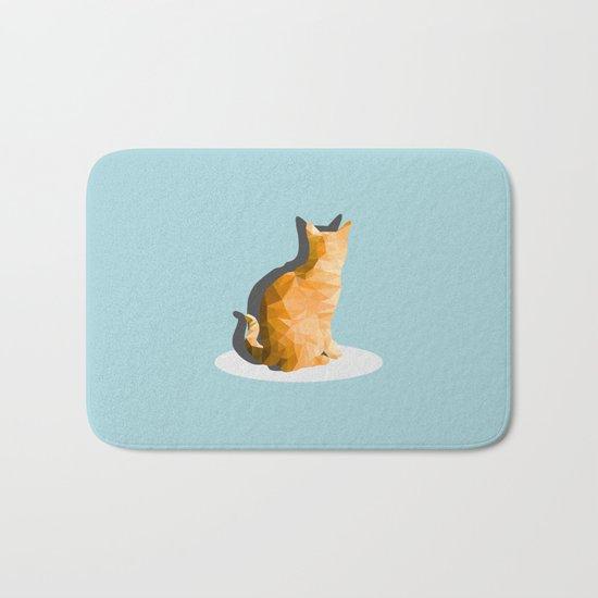 back cat Bath Mat