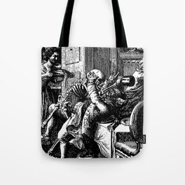 DEATH by ATTACK Tote Bag