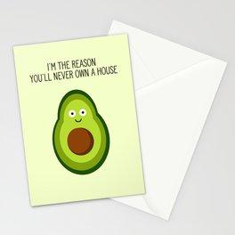 Smug Avocado Stationery Cards