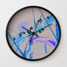 snake, harlequin coral Wall Clock