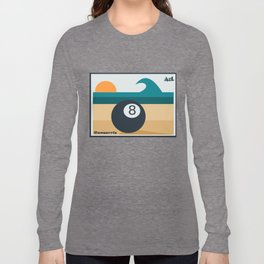 Eight ball and surf Long Sleeve T-shirt