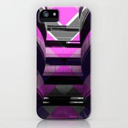 Puzzled Spirals [pink] iPhone Case