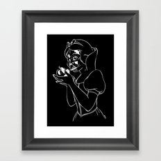 Snow Vader Framed Art Print