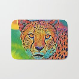 AnimalColor_Cheetah_001 Bath Mat