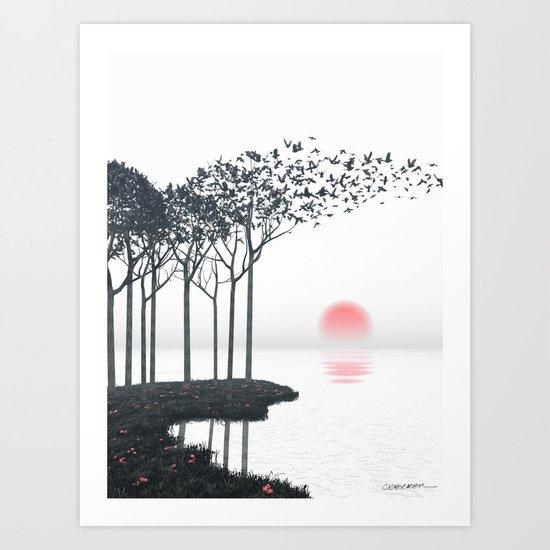 Aki Art Print