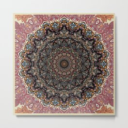 Something More Mandala Metal Print